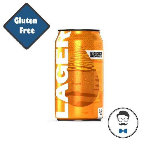Big Drop Alcohol Free Lager Can (0.5% ABV)